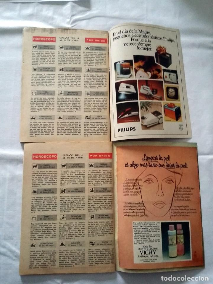 Coleccionismo de Revista Teleprograma: LOTE TP TELEPROGRAMA Nº 574 576 AÑO 1977 - Foto 3 - 239396265