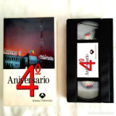 Coleccionismo de Revista Teleprograma: ANTENA 3 TELEVISIÓN - 4º ANIVERSARIO. Lote 240280040