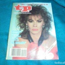 Coleccionismo de Revista Teleprograma: TP, TELEPROGRAMA Nº 1158, 13 AL 19 DE JUNIO 1988. STEPHANIE POWERS. Lote 241273615