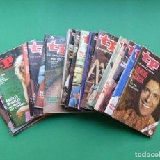 Coleccionismo de Revista Teleprograma: TP TELEPROGRAMA - 24 REVISTAS AÑOS 1970-1976-1977 - VER FOTOS ADICIONALES. Lote 242060740