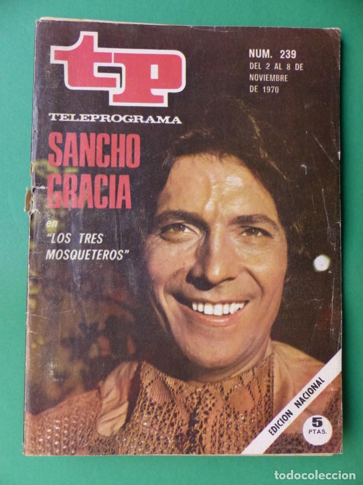 Coleccionismo de Revista Teleprograma: TP TELEPROGRAMA - 24 REVISTAS AÑOS 1970-1976-1977 - VER FOTOS ADICIONALES - Foto 2 - 242060740
