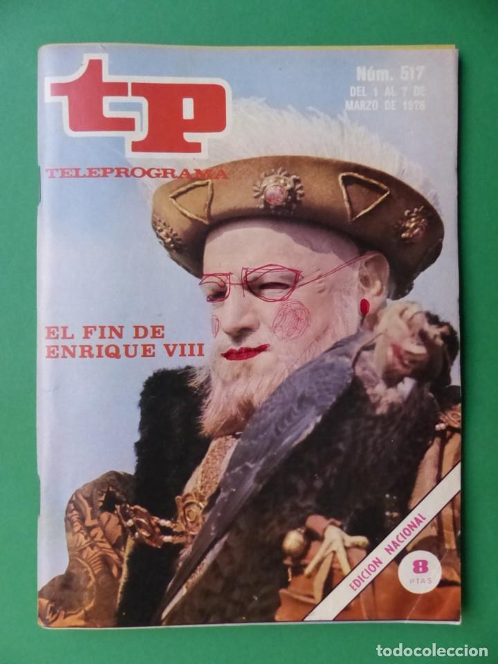 Coleccionismo de Revista Teleprograma: TP TELEPROGRAMA - 24 REVISTAS AÑOS 1970-1976-1977 - VER FOTOS ADICIONALES - Foto 13 - 242060740