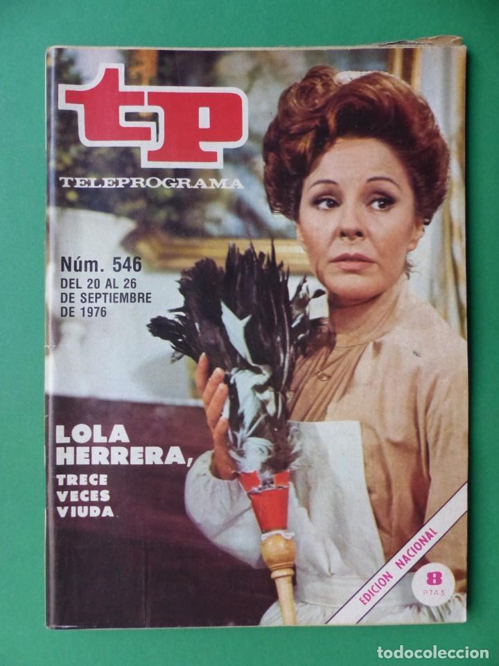 Coleccionismo de Revista Teleprograma: TP TELEPROGRAMA - 24 REVISTAS AÑOS 1970-1976-1977 - VER FOTOS ADICIONALES - Foto 14 - 242060740