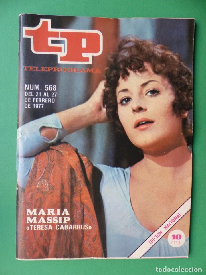 Coleccionismo de Revista Teleprograma: TP TELEPROGRAMA - 24 REVISTAS AÑOS 1970-1976-1977 - VER FOTOS ADICIONALES - Foto 18 - 242060740