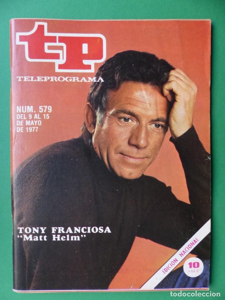 Coleccionismo de Revista Teleprograma: TP TELEPROGRAMA - 24 REVISTAS AÑOS 1970-1976-1977 - VER FOTOS ADICIONALES - Foto 20 - 242060740