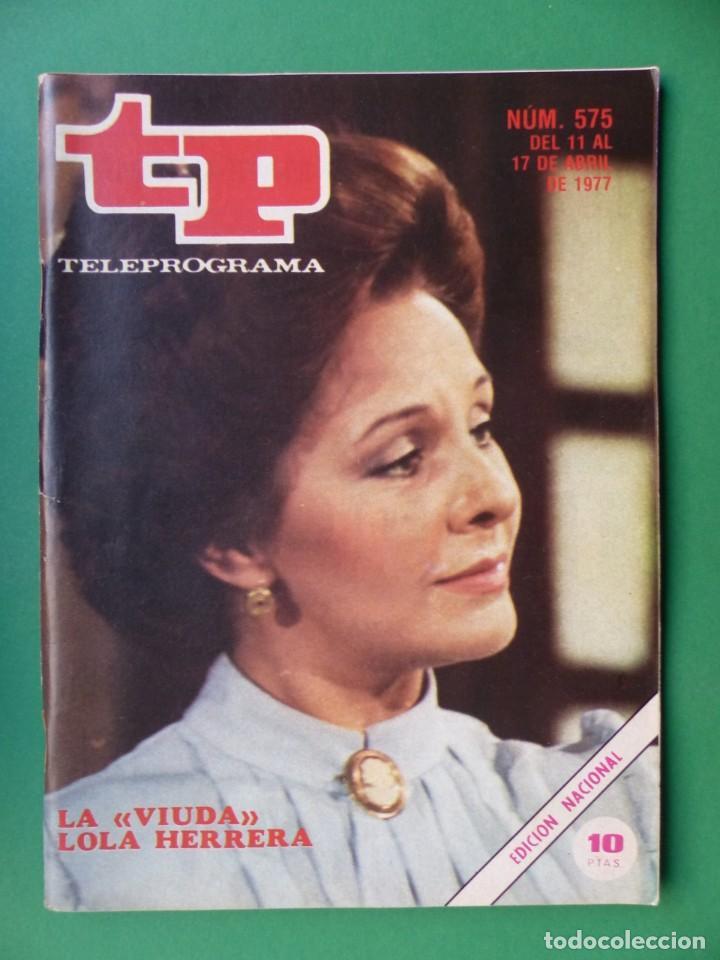 Coleccionismo de Revista Teleprograma: TP TELEPROGRAMA - 24 REVISTAS AÑOS 1970-1976-1977 - VER FOTOS ADICIONALES - Foto 23 - 242060740