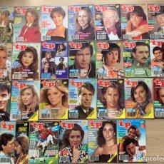 Coleccionismo de Revista Teleprograma: TELEPROGRAMA AÑO 1990 COMPLETO. Lote 243152335