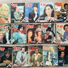 Coleccionismo de Revista Teleprograma: LOTE 44 TELEPROGRAMA 1972 AL 1977. Lote 243190125