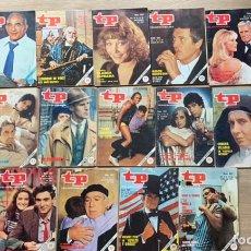 Collectionnisme de Magazine Teleprograma: LOTE 35 TELEPROGRAMA ENTRE 1978 Y 1985. Lote 243193960