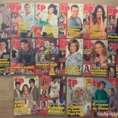 Coleccionismo de Revista Teleprograma: TELEPROGRAMAS AÑO 2011. Lote 243829445
