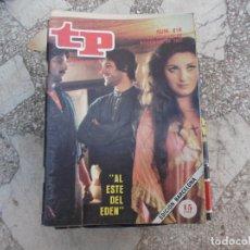 Coleccionismo de Revista Teleprograma: TP Nº 816, 1981, AL ESTE DEL EDEN. Lote 243995180