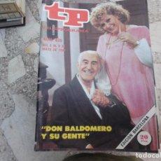 Coleccionismo de Revista Teleprograma: TP Nº 839, 1982, DON BALDOMERO Y SU GENTE. Lote 243995675