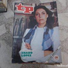 Coleccionismo de Revista Teleprograma: TP Nº 836, 1982, CHARO LOPEZ. Lote 243995885