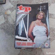 Coleccionismo de Revista Teleprograma: TP Nº 864, 1982, MARIA CRUZ SORIANO EN ASI COMO SUENA. Lote 243996280