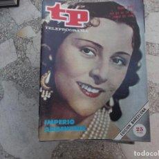 Coleccionismo de Revista Teleprograma: TP Nº 898, 1983, IMPERIO ARGENTINA. Lote 243996545