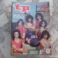 Coleccionismo de Revista Teleprograma: TP Nº 895, 1983, NUEVO EN,DOS,TRES......... Lote 243997480