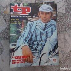 Coleccionismo de Revista Teleprograma: TP Nº 9OO, 1983, CRIBB, UN NUEVO DETECTIVE. Lote 243997755