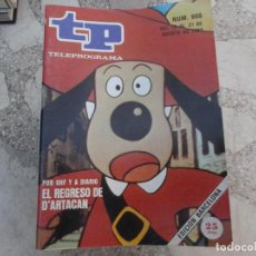 Coleccionismo de Revista Teleprograma: TP Nº 906, 1983, EL REGRESO DE D´ARTACAN. Lote 243998190