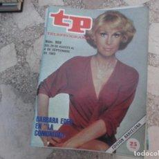 Coleccionismo de Revista Teleprograma: TP Nº 908, 1983, BARBARA EDEN EN LA COMUNIDAD. Lote 243998670