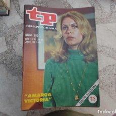 Coleccionismo de Revista Teleprograma: TP Nº 902, 1983, AMARGA VICTORIA. Lote 243999875