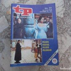 Coleccionismo de Revista Teleprograma: TP Nº 924, 1983, FELICES FIESTAS. Lote 244001910