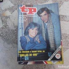 Coleccionismo de Revista Teleprograma: TP Nº 916, 1983, ANA DIOSDADO E IMANOL ARIAS EN ANILLOS DE ORO. Lote 244002200