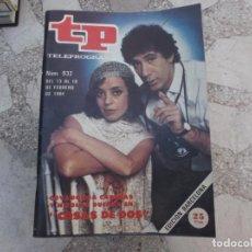 Coleccionismo de Revista Teleprograma: TP Nº 932, 1984, COVADONGA CADENAS Y NICILAS DUEÑAS EN COSAS DE DOS. Lote 244003790