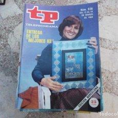 Coleccionismo de Revista Teleprograma: TP Nº 936, 1984, RENTREGA LOS MEJORES DEL 83. Lote 244004900