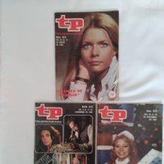 Coleccionismo de Revista Teleprograma: REVISTA TP TELEPROGRAMA NUM.825,870, Y 872 EDICIÓN NAVIDAD 1982. Lote 245585490