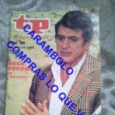 Coleccionismo de Revista Teleprograma: 739 ROCK HUDSON TP TELEPROGRAMA REVISTA U35. Lote 246076115