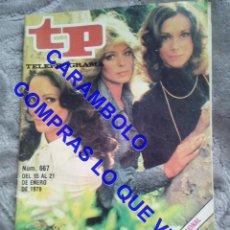 Coleccionismo de Revista Teleprograma: 667 LOS ANGELES DE CHARLIE TP TELEPROGRAMA REVISTA U35. Lote 246078740