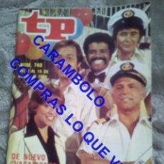 Coleccionismo de Revista Teleprograma: 740 VACACIONES EN EL MAR TP TELEPROGRAMA REVISTA U35. Lote 246079210