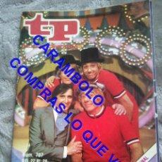Coleccionismo de Revista Teleprograma: 707 GABY MILIKI FOFITO MILIKITO LOS PAYASOS DE LA TELE TP TELEPROGRAMA REVISTA U35. Lote 246079510
