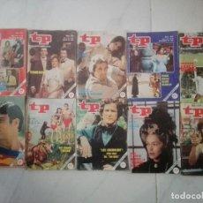 Coleccionismo de Revista Teleprograma: TP LOTE DE 10 REVISTAS TP TELEPROGAMA AÑOS 80. Lote 246640645