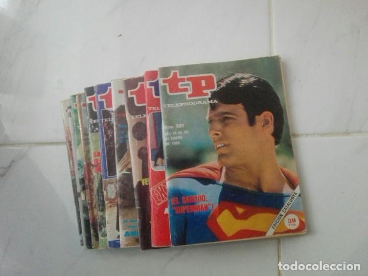 Coleccionismo de Revista Teleprograma: tp lote de 10 revistas TP teleprogama años 80 - Foto 2 - 246640645