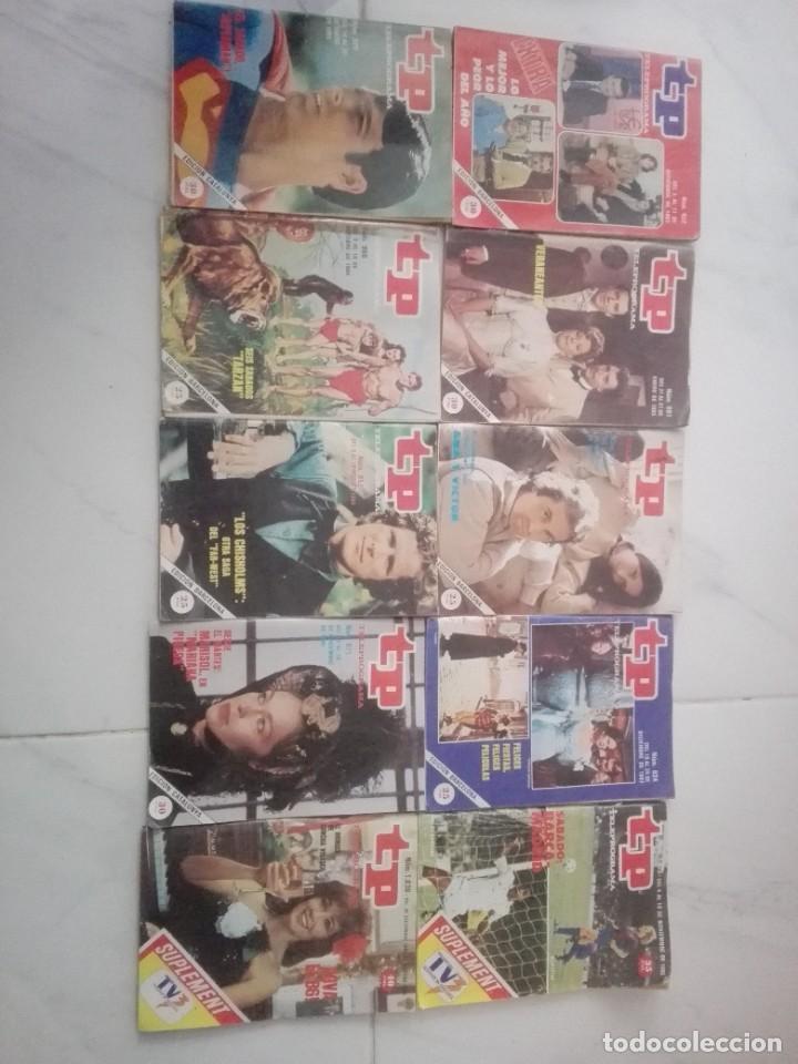 Coleccionismo de Revista Teleprograma: tp lote de 10 revistas TP teleprogama años 80 - Foto 3 - 246640645