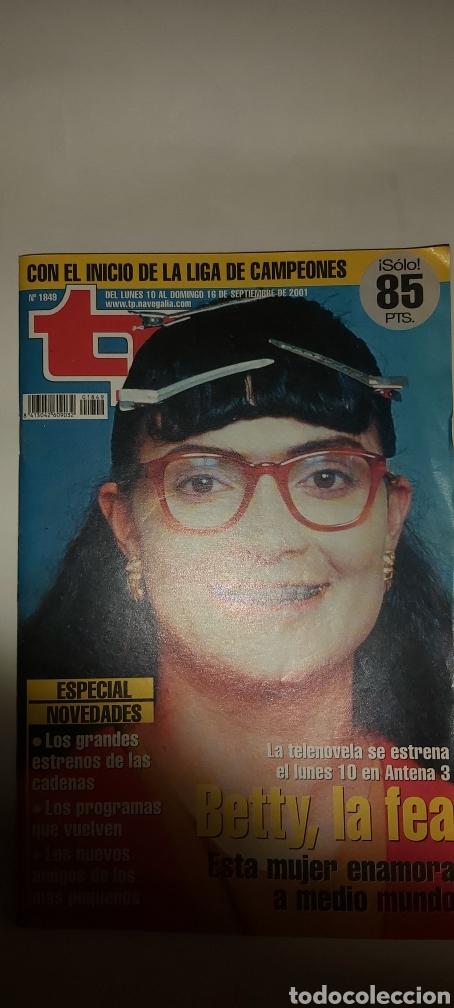 TP TELEPROGRAMA 1849 10/16 DE SEPTIEMBRE 2001 (Coleccionismo - Revistas y Periódicos Modernos (a partir de 1.940) - Revista TP ( Teleprograma ))