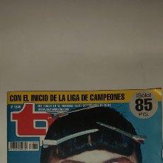 Coleccionismo de Revista Teleprograma: TP TELEPROGRAMA 1849 10/16 DE SEPTIEMBRE 2001. Lote 253252085