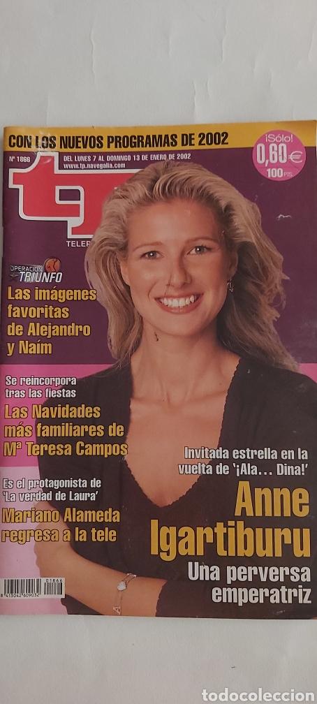 TP TELEPROGRAMA 1866 7 / 13 ENERO 2002 (Coleccionismo - Revistas y Periódicos Modernos (a partir de 1.940) - Revista TP ( Teleprograma ))