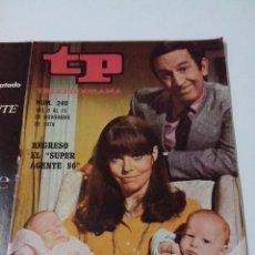 Collectionnisme de Magazine Teleprograma: REVISTA TP TELE PROGRAMA AÑO 1970 Nº 240 REGRESO DEL SUPER AGENTE 86. Lote 253934675