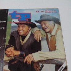 Collectionnisme de Magazine Teleprograma: REVISTA TP TELE PROGRAMA AÑO 1970 Nº 245 EL GRAN CHAPARRAL. Lote 253935620