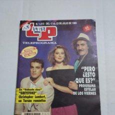 Coleccionismo de Revista Teleprograma: 29152 - TP, TELEPROGRAMA - Nº 1215 AÑO DEL 1989. Lote 254744190