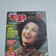 Coleccionismo de Revista Teleprograma: 14449 A - TP, TELEPROGRAMA - Nº 1183 AÑO DEL 1988. Lote 254744360