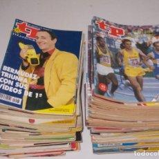 Coleccionismo de Revista Teleprograma: LOTE 78 REVISTAS TP TELEPROGRAMA, VER FOTOS PORTADAS Y LEER NÚMERO. Lote 258187370