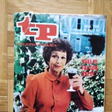 Coleccionismo de Revista Teleprograma: REVISTA TP TELEPROGRAMA 999. SERIE V ANGELA CHANNING FALCON CREST. PEDRO MACIA. VER FOTOS. Lote 260808885
