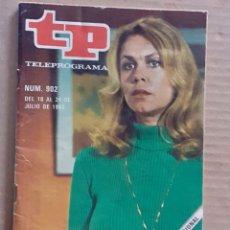 Coleccionismo de Revista Teleprograma: TELE PROGRAMA NUM. 902 AÑO 1983. Lote 261120025