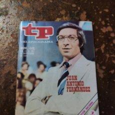 Coleccionismo de Revista Teleprograma: REVISTA TP, TELEPROGRAMA N° 442 (AÑO 1974). Lote 261125960