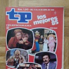 Coleccionismo de Revista Teleprograma: REVISTA TP TELEPROGRAMA 1045. UN, DOS TRES. FALCON CREST. MASIEL. DINASTIA. HEIDI. MAYRA GOMEZ KEMP. Lote 261961880