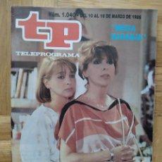 Coleccionismo de Revista Teleprograma: REVISTA TP TELEPROGRAMA 1040. ROCKY IV. MEDIA NARANJA. MARIA LUISA MERLO. AMPARO LARRAÑAGA. Lote 261962435