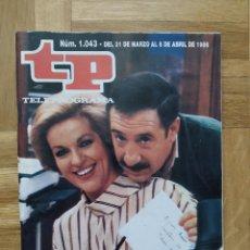 Coleccionismo de Revista Teleprograma: REVISTA TP TELEPROGRAMA 1043. ALFREDO LANDA. TRISTEZA DE AMOR. ANGEL CASAS. KOROLEZ KIROL. Lote 261964140